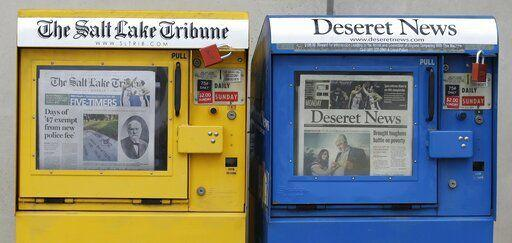 Both newspapers in Salt Lake City to cease daily publication